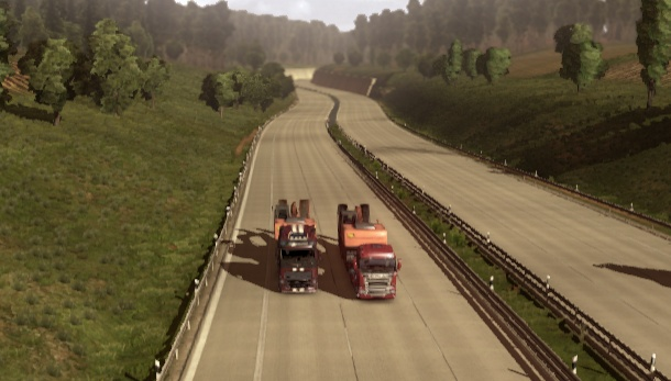 Euro Truck Simulator 2 Multiplayer mod moves into open alpha