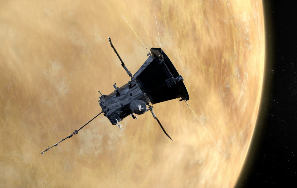 Venus views from NASA sun probe show potential of hitchhiking science instruments