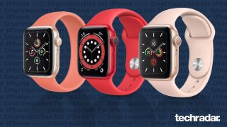 The best smartwatch for iPhone including Apple Watch SE, Apple Watch 6 and Apple Watch 5