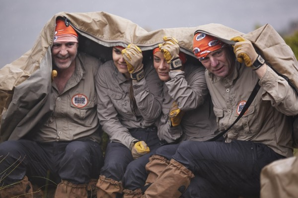 Celebrity contestants on Bear Grylls: Mission Survive