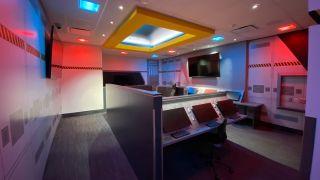 Christa McAuliffe Space Center simulators driven by Visionary PacketAV Duet Matrix Series