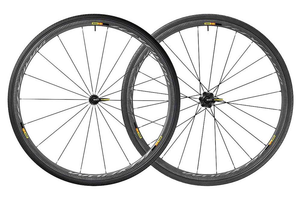 367091bfe59 The Ksyrium Pro Carbon SL C wheelset offers a lower profile