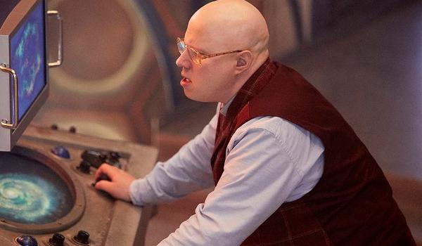 Doctor Who Nardole Piloting The Tardis