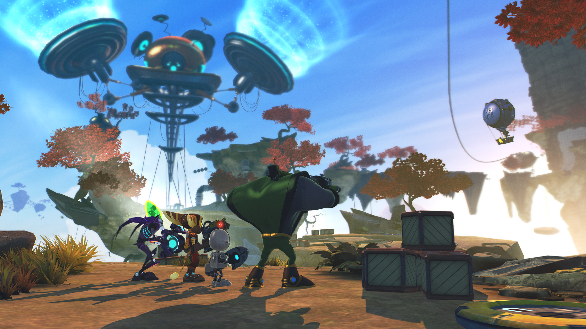 Ratchet And Clank All 4 One Review Gamesradar