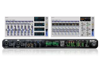 The CueMix FX software enables you to control all the 828mk3's settings.