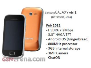 Samsung Galaxy Mini 2 set for MWC 2012