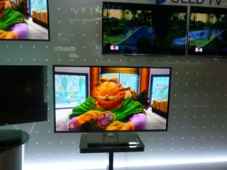 LG's 31 inch OLED screen at IFA