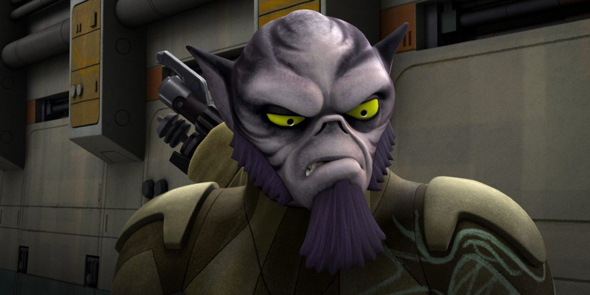 Zeb in Star Wars Rebels