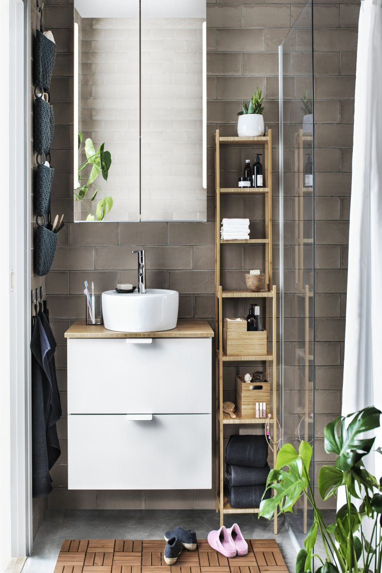 Small Bathroom Storage Ideas 16 Ways To Declutter Your Space Real Homes