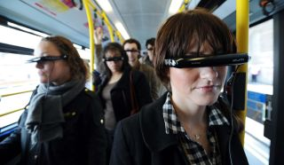 Are virtual 3D mobile phones the future on the tube