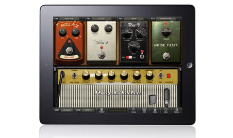 Amplitube Jimi Hendrix for iPad offers you a choice of two amps, two speaker models and five effects