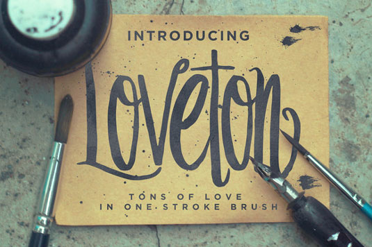 Font of the day: Loveton