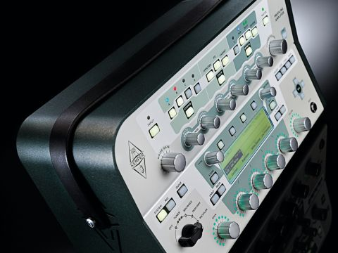The Kemper Profiling Amp: about the size of a hungry man's lunchbox.
