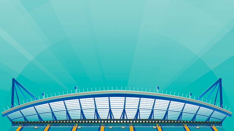 5 great EPL football stadium illustrations
