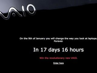 Is there going to be a Sony Vaio netbook unveiled at CES?
