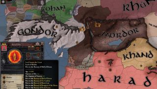 Mod of the Week: The Middle Earth Project, for Crusader Kings II