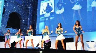 Samsung dancers