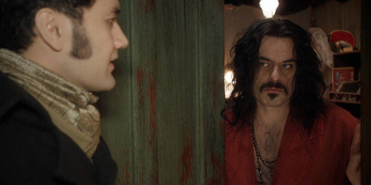 Taika Waititi and Jemaine Clement in What We Do in the Shadows