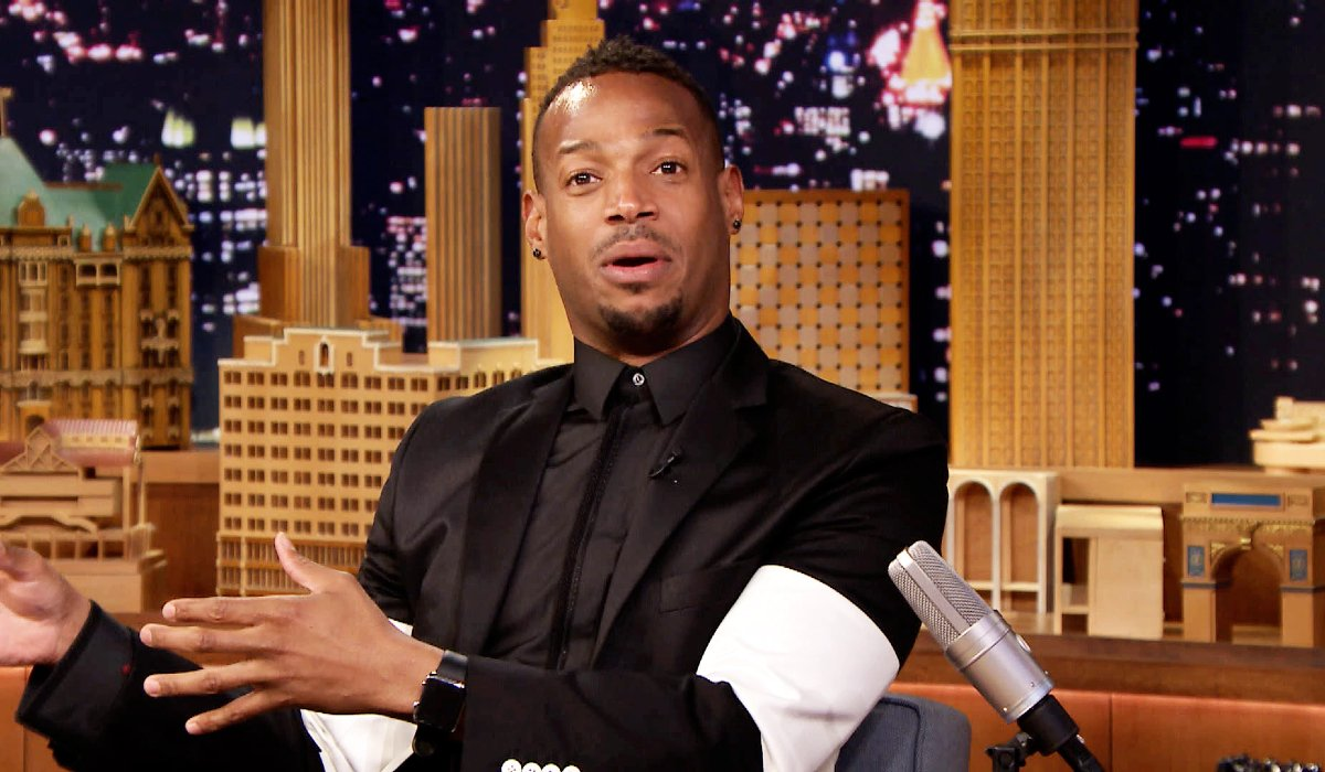The Tonight Show With Jimmy Fallon Marlon Wayans makes an appearance