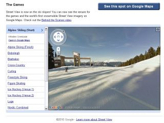 Street View - now with added brr!