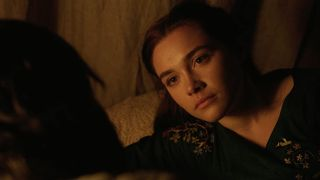 Florence Pugh in Outlaw King