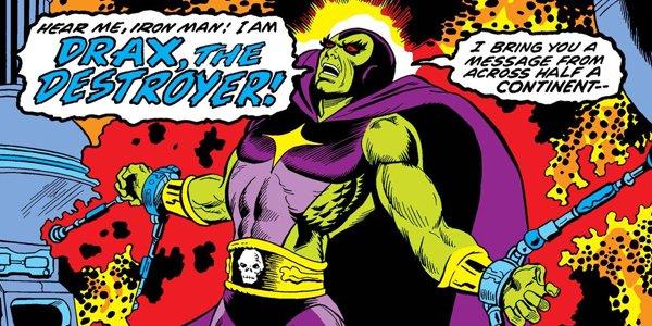 Drax the Destroyer Iron Man Dave Bautista Robert Downey Jr.