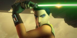 Ezra Bridger in Star Wars Rebels