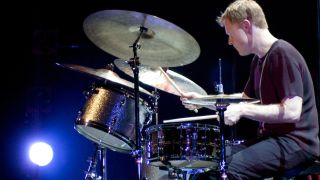 Drummer to perform with Larry Goldings and Peter Bernstein