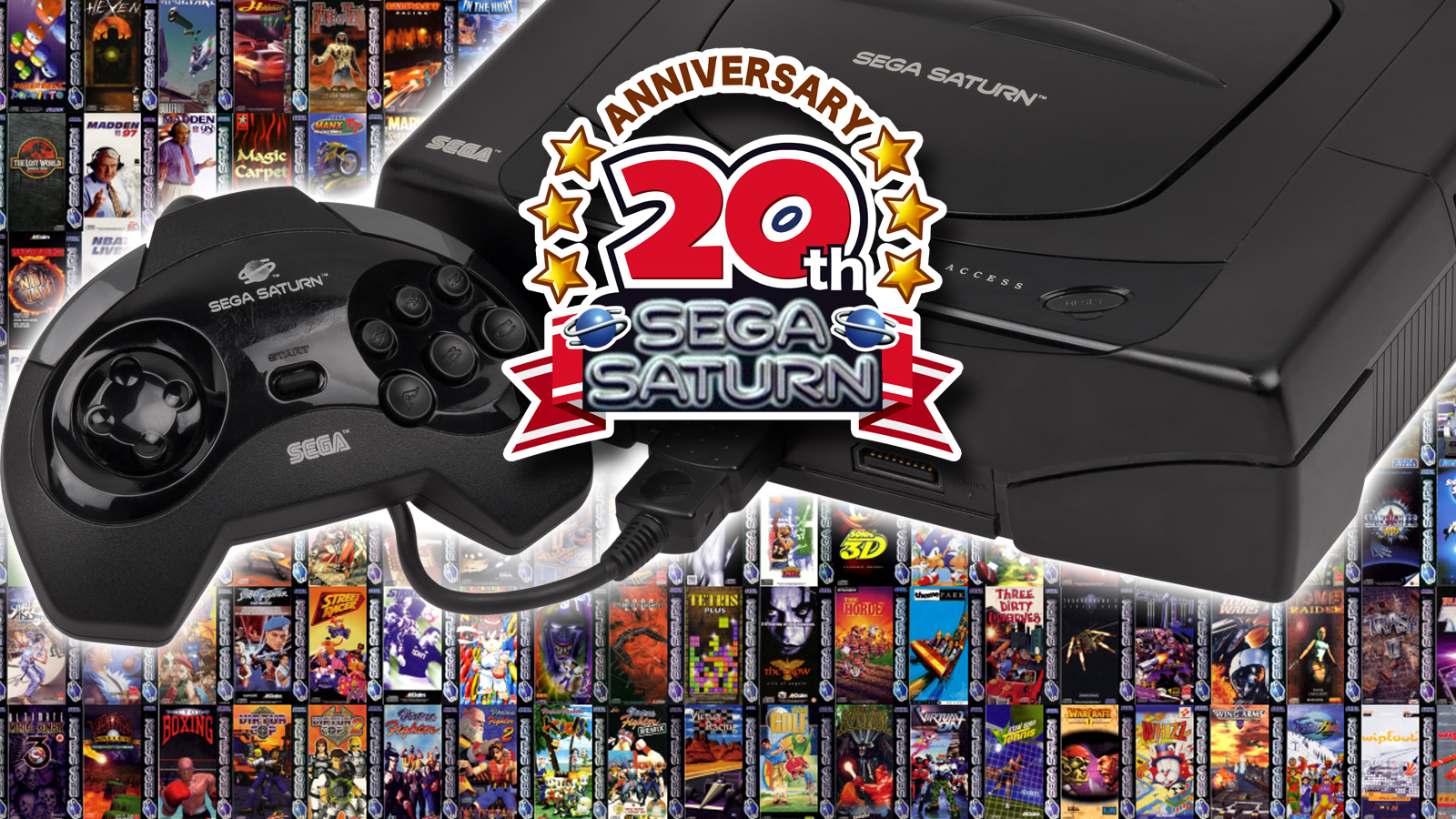 Sega Saturn turns 20, and it's not as shit as you think