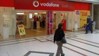 Vodafone retail shop