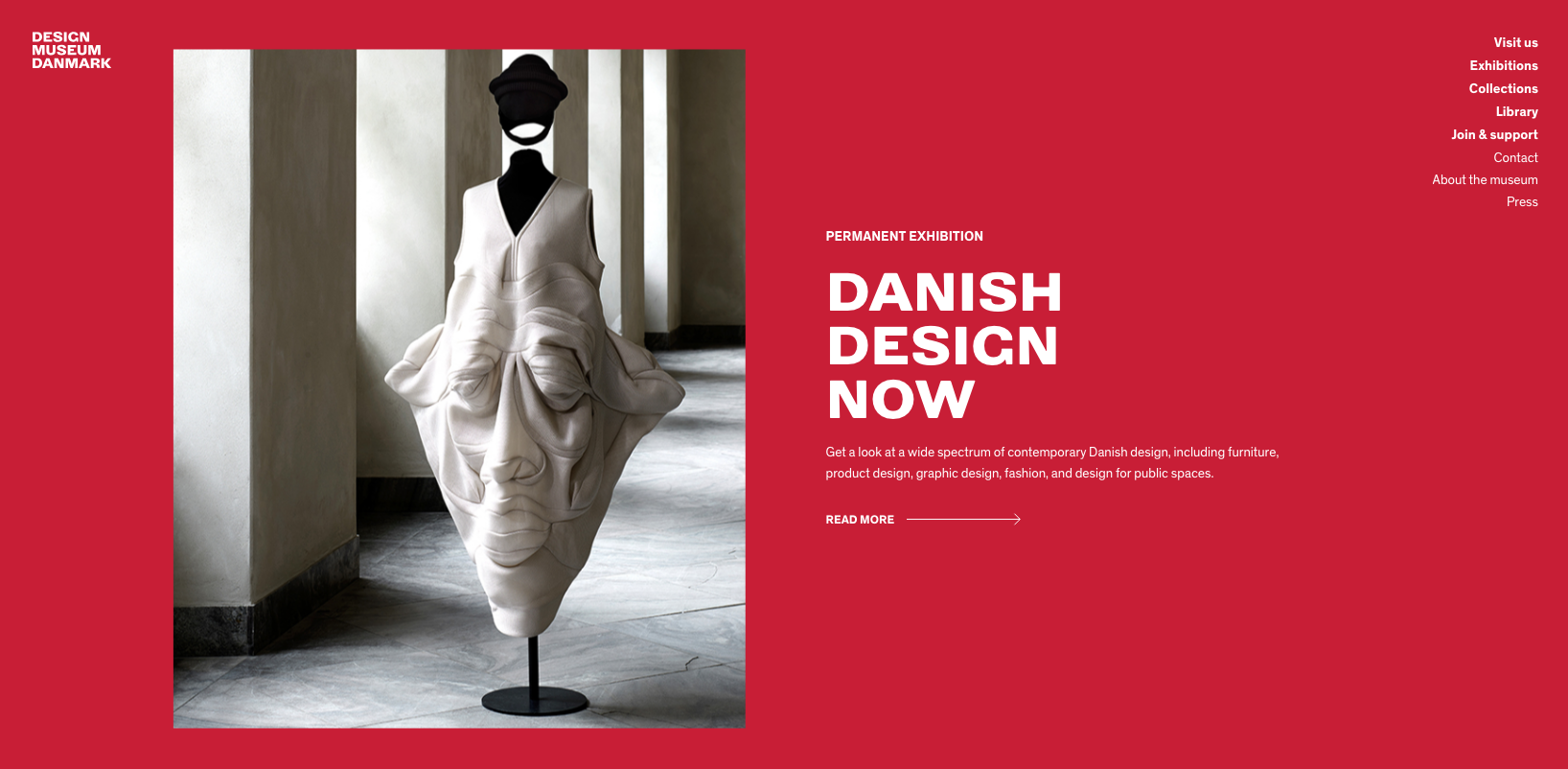 WordPress websites: Danish Design Museum