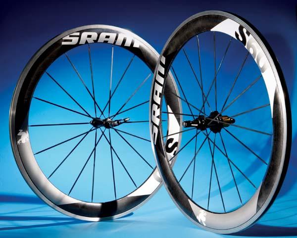 SRAM, £1,000 deep-section carbon wheel test