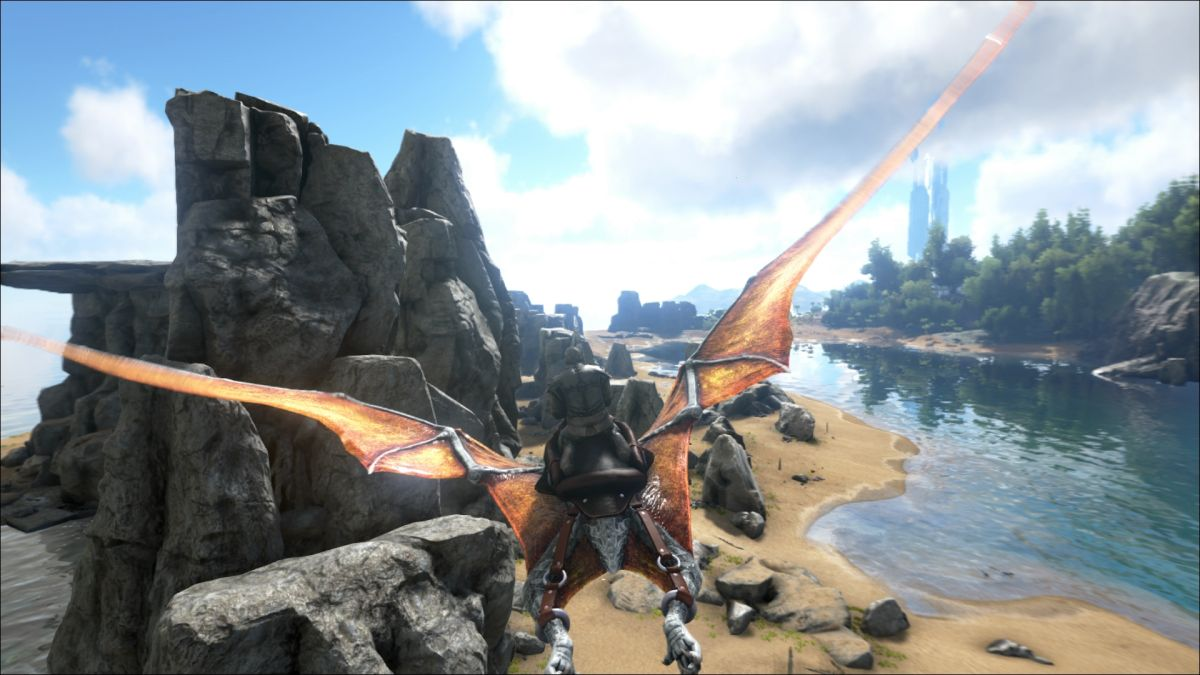 Classic Flyer mod for Ark: Survival Evolved restores winged dinos to