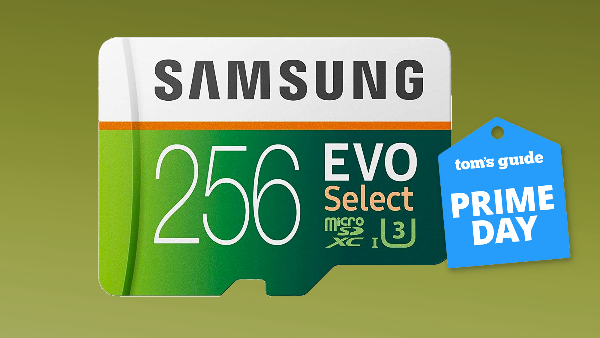 Samsung EVO microSD card Prime Day deal