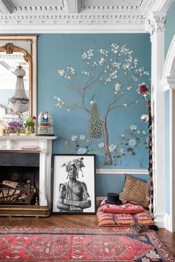 Modern Wallpaper Designs For Living Room: Lush Living Room Wallpaper Ideas; From Contemporary To Chintz