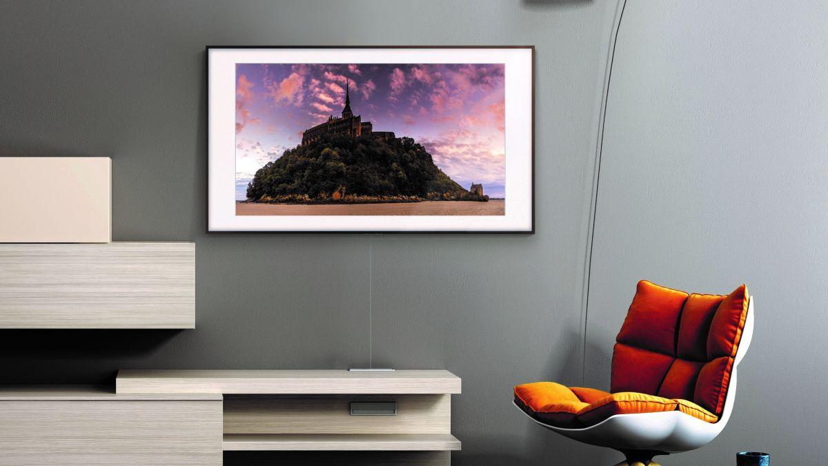 samsung s the frame tv is getting a qled performance. Black Bedroom Furniture Sets. Home Design Ideas