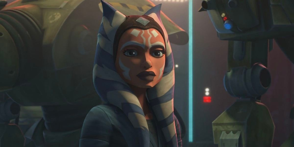Ahsoka Tano on Star Wars: The Clone Wars (2020)