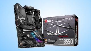 MSI MPG B550 GAMING EDGE WIFI AM4 ATX Motherboard