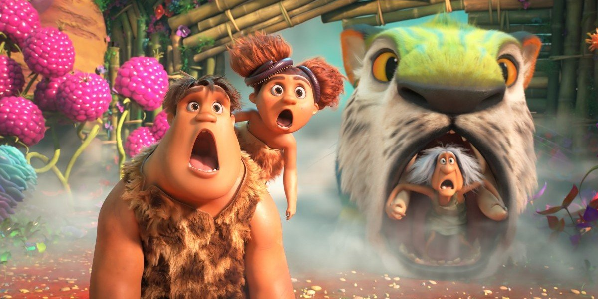The Croods, shocked