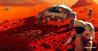 Colonizing Mars art.