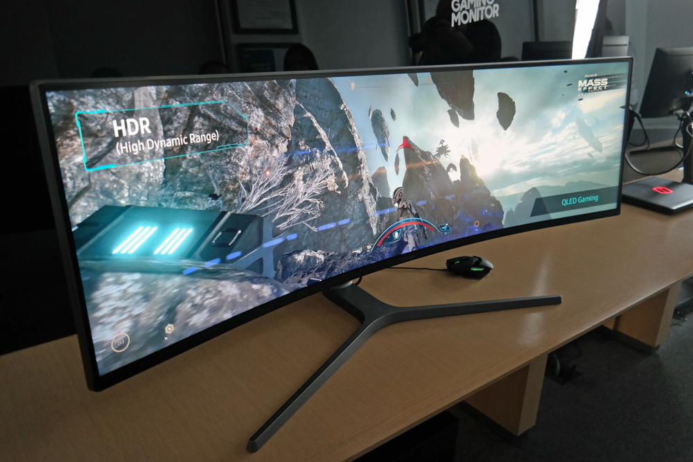 Samsung's Curved $1,499 Gaming Monitor Is Insanely Wide