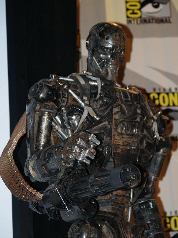 Comic Con In Photos: Terminator Salvation's T-600 #114