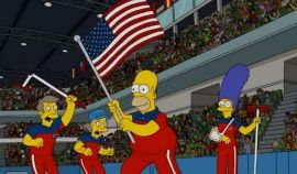 Of Course The Simpsons Predicted The U.S. Men's Curling Team Winning Olympics Gold