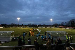 Sutton United v Lincoln City – Vanarama National League – Gander Green Lane