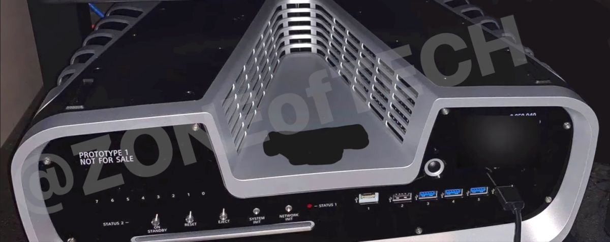 PS5 Prototype Photos Leak with a Very Retro Vibe