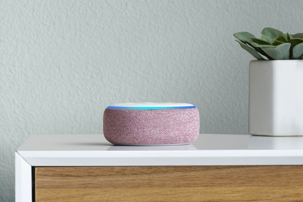 The Echo Dot is £18.99 right now