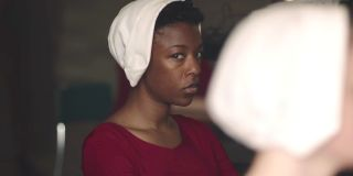 Samira Wiley as Moira Strand in _The Handmaid's Tale._