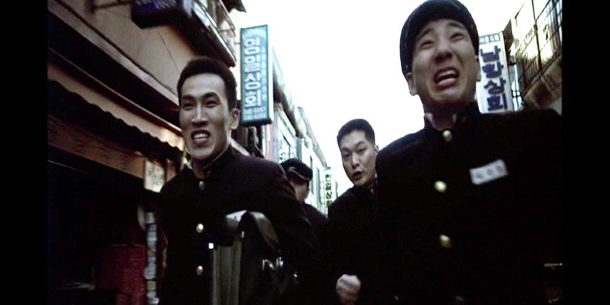 Yu Oh-seong, Jang Dong-gun, Seo Tae-hwa, and Jung Woon-taek in Friend