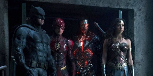 The League without Aquaman and Sueprman