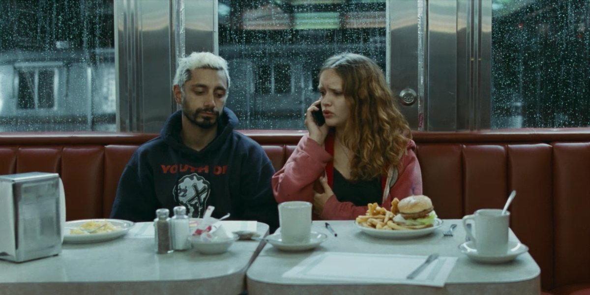 Riz Ahmed and Olivia Cooke in Sound of Metal